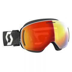 Scott Goggle LCG Evo Snow Cross white/black enhancer red chrome