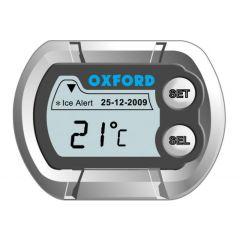 Oxford Micro Klocka, vattentät. Ljusdisplay. Temperatur & datum. Batteri CR2032