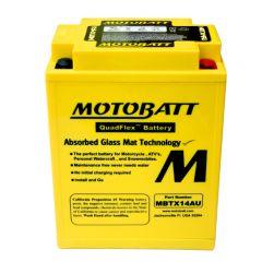 MOTOBATT batteri MBTX14AU Factory sealed