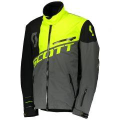 Scott Jacka Shell Pro mörkgrå/neon gul