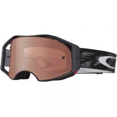 Oakley Airbrake MX Goggles Jet Black wPrizmMX Bronze