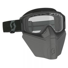 Scott Goggle Primal Safari Facemask black clear