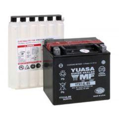 YUASA batteri YTX14L-BS  (CP) Inkl syra