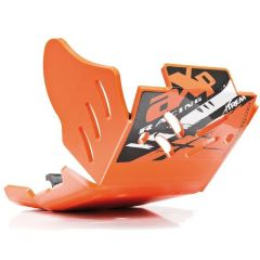 AXP Xtrem HDPE Hasplåt Orange KTM250/350EXC-F 17-