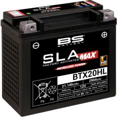 BS Battery  BTX20HL (FA) SLA MAX - Sealed & Activated