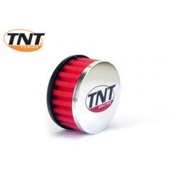 TNT Luftfilter, R-Box, Röd, Anslutning Ø 28/35mm, (Ø 85mm l. 39mm)