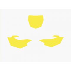 Blackbird nummerbottnar gul YZF250/450 14-15