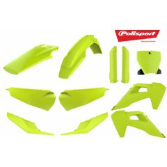 Polisport MX Complete Kit TC125/250, FC250/350/450 models 2019- Yellow FLO