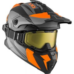 CKX Hjälm + Goggles TITAN Sidehill Matt orange