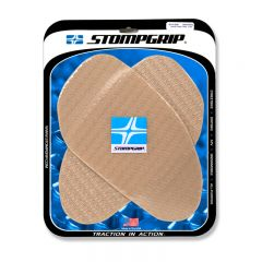 Stompgrip Universal Large Street Bike Tank Grips - Icon : Clear