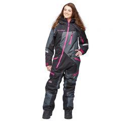Sweep Snow Queen 2 ladies insulated suit svart/grå/rosa