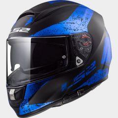 LS2 Hjälm FF397 SIGN matt svart blue