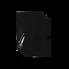 Blackbird Klisterark  svart 47x33cm (3st)