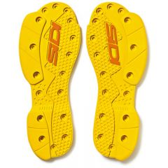 Sidi SMS Supermoto sole pair yellow 47-48