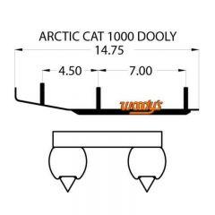 "Woodys Dooly Arctic Cat Trail Runners 6"" 1st/förp."