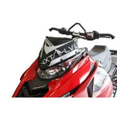 Skinz Next Level Vindrute Väska svart/vit 2014- Yamaha Viper