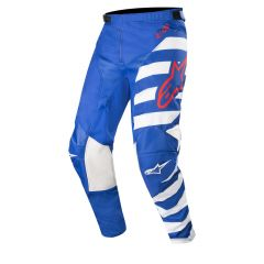Alpinestars byxor Racer Braap, blå/vit/röd