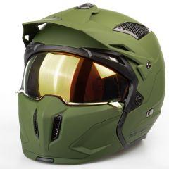 MT Streetfighter SV hjälm, matt grön