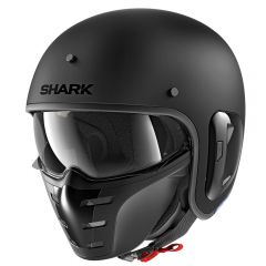 Shark S-Drak 2 hjälm, matt svart