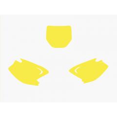 Blackbird nummerbottnar gul  KX 125-250 03-08