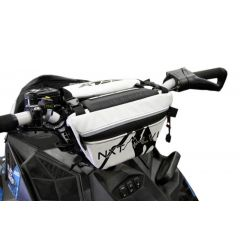 Skinz Next Level Styre Väska Vit 2011-15 Polaris Pro RMK/Switchback Assault