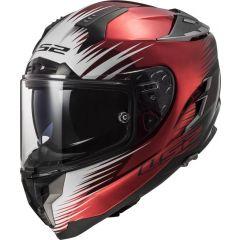 LS2 Helmet FF327 Challenger Magic Wineberry Black