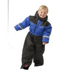 SnowPeople Safari barn overall blåsvart