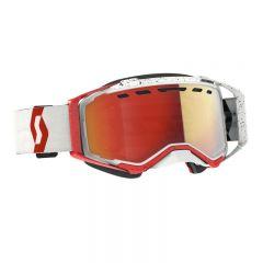 Scott Goggle Prospect Snow Cross LS white/red ls red chrome