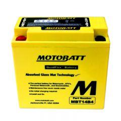 MOTOBATT batteri MBT14B4 Factory sealed