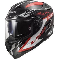 LS2 Hjälm FF327 Challenger GP Svart/Röd