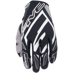 Five handske MXF PRO RIDER Svart/Vit