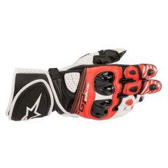 Alpinestars Handske GP Plus R v2 Svart/Vit/Röd