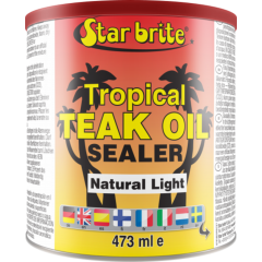 Tropical Teak Oil/Sealer Natural Light 500ml