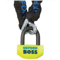 OXFORD lås Boss och 1,5m kedja  SSF godkänt