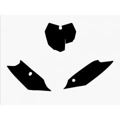 Blackbird nummerbottnar svart SX/SX-F 13-15