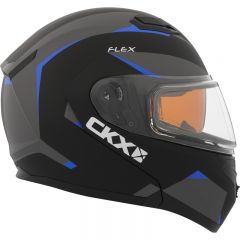 CKX Hjälm, öppningsbar Flex RSV med Elektrisk visir, Control blå