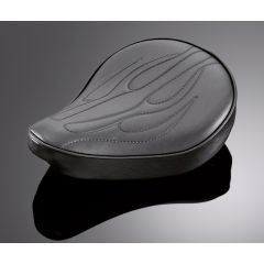 Highway Hawk solo seat small flame
