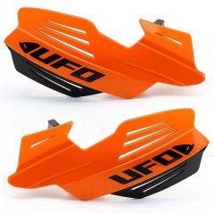 UFO Handskydd Vulcan inkl fäste Orange 127