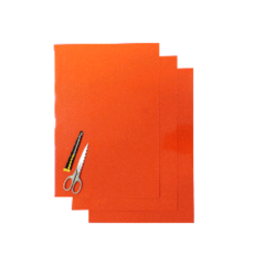 Blackbird Klisterark  orange 47x33cm (3st)