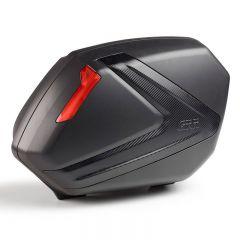Givi Sidoväskor V37N, carbon look med röda reflexer