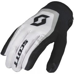 Scott  Handske 350 Dirt vit/svart