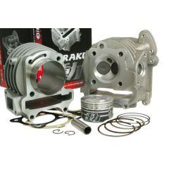 Naraku Cylindersats & Topplock, 90cc, Kina-skoter 4-T 50cc / Kymco 4-T / SYM 4-T