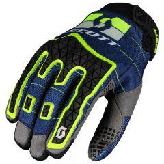 SCOTT Handske Enduro blå/gul