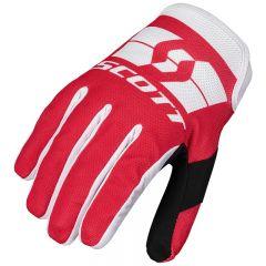 SCOTT Glove 250 Swap red/white