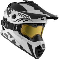 CKX Hjälm + Goggles TITAN Airflow Extra Vit