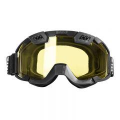 CKX Goggle 210° svart/gul lins
