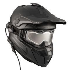 CKX Hjälm + Goggles med elektrisk lins TITAN  Matt svart