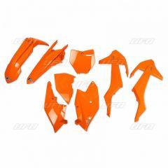 UFO Plastkit 5-delar KTM SX/SX-F 2016-2018 Flou orange (ej SX250 2016)