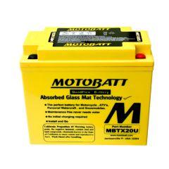 MOTOBATT batteri MBTX20U