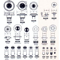 Glödlampa 6,0V 2,4W PX13,5S pr